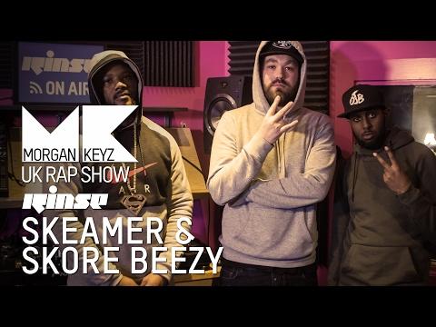 SKEAMER & SKORE BEEZY (OJB) FREESTYLE | UK RAP SHOW @MorganKeyz @skeamerojb @SkoreBeezy