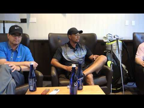 Tiger Woods talks about the Nike Golf brand evolution in New York