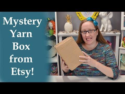Mystery Yarn box from Etsy!!
