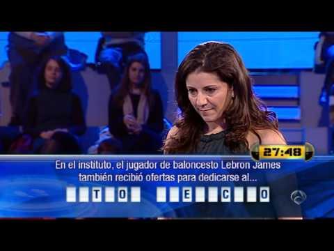 María Luisa Casado, en ¡Ahora caigo!