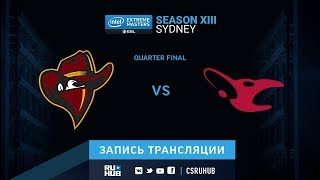 Renegades vs Mousesports - IEM Sydney XIII - map1 - de_mirage [ceh9, yXo]