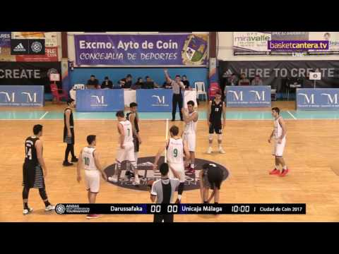 ANGT Coin: U18 Darussafaka Dogus Istanbul vs. U18 Unicaja Malaga - Full Game