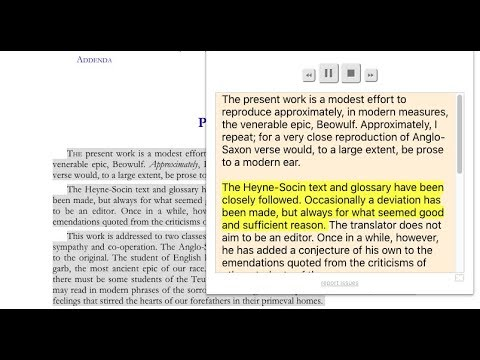 Text to speech: Play, Pause, Highlight, Skip (Best Chrome Extension)