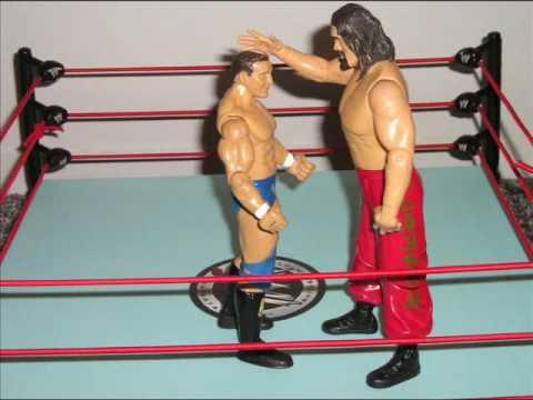 Wrestling Toys Stop Motion 2