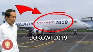 Video Pesawat Bertuliskan Jokowi 2019 Ini Milik Pengusaha Indonesia, Siapa Dia?Jet Pribadi Orang Indonesia MP3, 3GP, MP4, WEBM, AVI, FLV Februari 2019