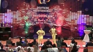 Tabea Gagelmann & Jonas Gagelmann - Deutsche Meisterschaft 2014