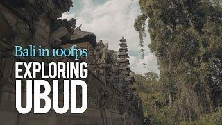 Bali in 100fps: Exploring Ubud