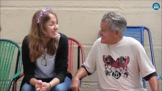 Programa Pai Eterno - 2ª série visita abrigo de idosos