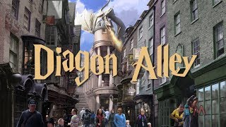 Diagon Alley art with