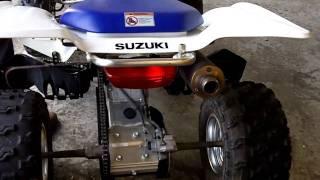 6. 2005 Suzuki Z400 Quadsport