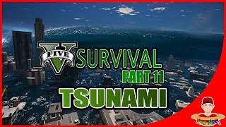 Video GTA V SURVIVAL (11) - HANCURR !! KOTA TERENDAM TSUNAMI !! MP3, 3GP, MP4, WEBM, AVI, FLV Juli 2018