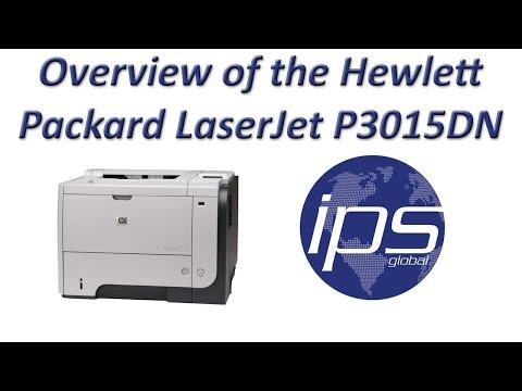 Overview of the Hewlett Packard LaserJet P3015DN