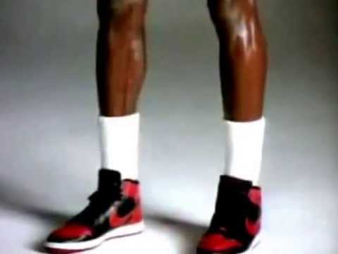 Banned from NBA Nike AIR JORDAN 1 COMMERCIAL
