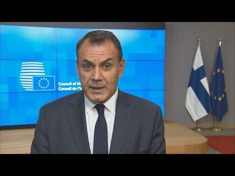 Συμμετοχή ΥΕΘΑ Νικόλαου Παναγιωτόπουλου στο Συμβούλιο Υπουργών Άμυνας της Ε.Ε. στις Βρυξέλλες