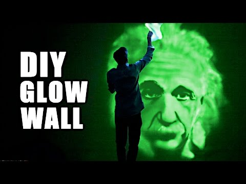 How to Make a Giant Glow Wall