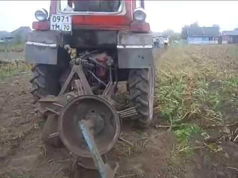 Картофелекопалка своими руками для трактора т 25