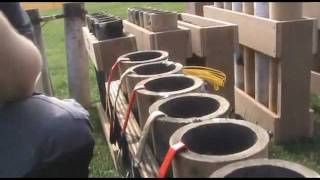Professional Pyrotechnic Rigging and Firing - Extra FX Fireworks Ltd - Stratford River Festival 2011