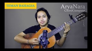 Video Chord Gampang (Teman Bahagia - Jaz) by Arya Nara (Tutorial) MP3, 3GP, MP4, WEBM, AVI, FLV Juli 2018
