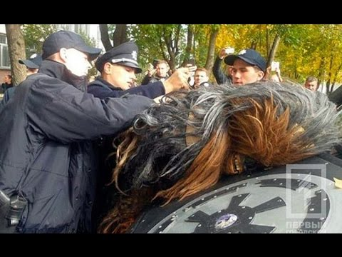 Ukrainian Chewbacca arrested