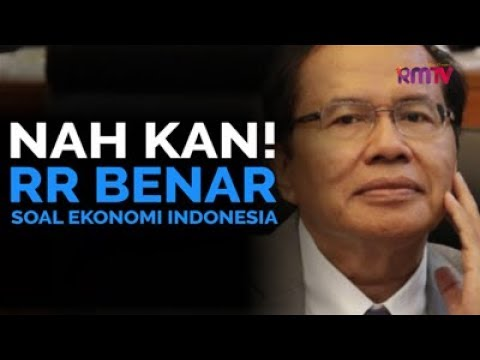 Nah Kan! RR Benar Soal Ekonomi Indonesia