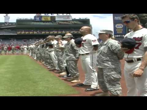 Soldiers Update: Atlanta Braves provide a heroes welcome to Soldiers