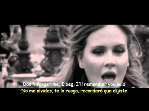 Video Adele - Someone Like You (Lyrics & Sub Español) Official Video download in MP3, 3GP, MP4, WEBM, AVI, FLV January 2017