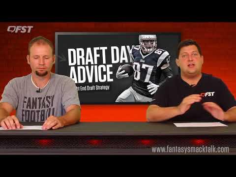 2018 Fantasy Football Tight End TE Draft Strategy thumbnail