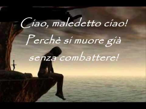 , title : 'Gianna Nannini - Maledetto ciao (testo)'