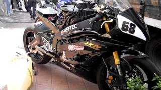 9. Yamaha YZF R6 - Engine sound [HD]