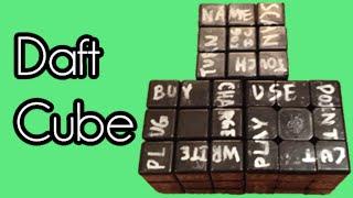Les paroles de Daft Punk recomposées sur un Rubik's Cube