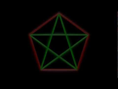 Algo pasa con phi - Capítulo 1 - El pentágono mágico y el número áureo.