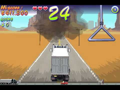 Truckers Delight Iphone Gameplay (видео)