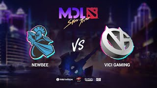 Newbee vs Vici Gaming, MDL Macau 2019, bo1, [Lex & 4ce]