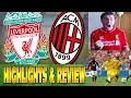 Liverpool-AC Milan 2-0 Highlights & Review Fanzone Reaction - 2014 Pre-Season