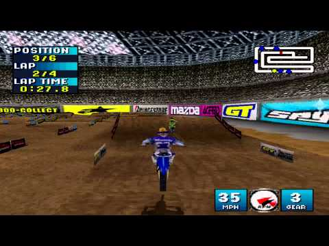 Jeremy McGrath Supercross 2000 Playstation
