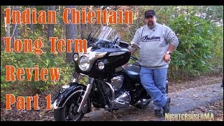 3. Indian Chieftain Long Term Review - Part 1 - Engine, Exhaust, Transmission