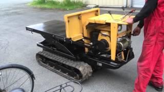 Download Lagu 野沢 7馬力油圧クローラーリフトダンプ CP3LLD2 運搬車 始動方法と実演 Mp3