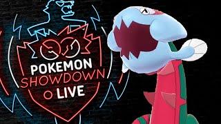 Enter DRACOVISH! Pokemon Sword and Shield! Dracovish Pokemon Showdown Live! by PokeaimMD