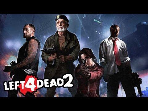 Left 4 Dead 2 — ПУЛИ И КРОВЬ И РАСЧЛЕНЕНКА!
