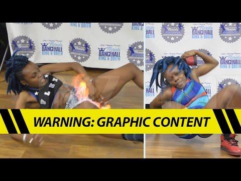 Viral Fire Crotch Dancer -- My Vagina Survived!! | TMZ