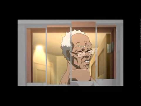 The Boondocks Season 2 Intro (Mirrored)