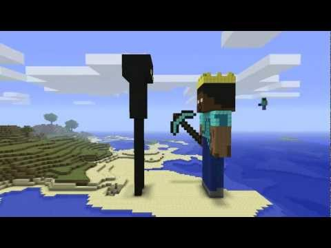 Minecraft - Enderman & Herobrine