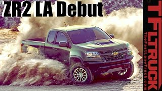 2017 Chevy Colorado ZR2 LA Debut: Trick Suspension and Dual Lockers by The Fast Lane Truck