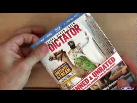 Disney Once Upon A Time Blu Ray Unboxing Review With  The Dictator