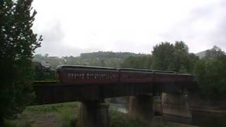 Tunkhannock (PA) United States  City pictures : RBMN 425 departs Tunkhannock, PA
