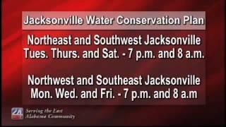 Jacksonville Water Conservation Plan
