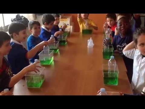 Esperimenti di scienze - L'aria occupa uno spazio