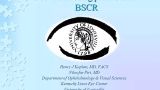 Best Monitoring Practices for BSRC - Henry Kaplan, MD