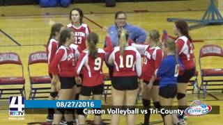 Caston Varsity Volleyball vs Tri-County