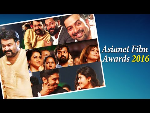 Asianet Film Awards 2016: Candid Photos & Winners List || Malayalam Focus